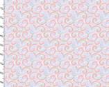 Unicorn Utopia - Swirl Glitter from 3 Wishes Fabric