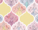 Disney Princess - Pretty Princess Patch Ogee from Springs Creative Fabric