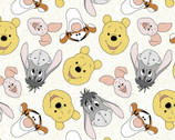Winnie the Pooh - Pooh and Friends Toss by Disney from Springs Creative Fabric