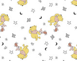 Winnie the Pooh - Pooh Piglet  Stars from Springs Creative Fabric