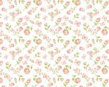 Daisy Mae - Mini Mae White from Poppie Cotton Fabric