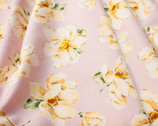 Plants Southern - Magnolia Floral Pink from Cosmo Fabric