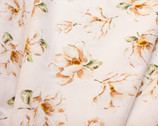Plants Southern - Magnolia Floral Cream from Cosmo Fabric