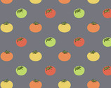 Farm To Fabric - Heirloom Tomatoes Grey from Andover Fabrics