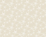 By The Sea - Starfish Tan from Andover Fabrics