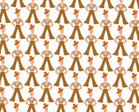 Lottie Ruth - Sailors Brown from Andover Fabrics