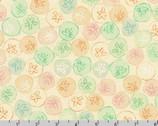 Wishwell Sunset Coast - Sand Dollar Pastel by Vanessa Lillrose and Linda Fitch from Robert Kaufman Fabrics