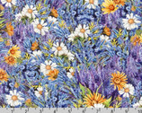 Everyday Favorites - Wildflower Lavender by Mary Lake-Thompson from Robert Kaufman Fabrics