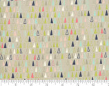 Desert Song - Triangles Natural Tumbleweed from Moda Fabrics