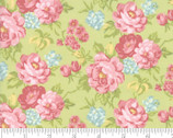 Bramble Cottage - Florals Light Green Willow from Moda Fabrics