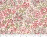 Rue 1800 - Florals Pink by 3 Sisters from Moda Fabrics