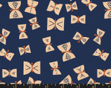 Alma - Butterflies Indigo Dark Blue by Alexia Abegg from Ruby Star Fabric