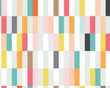 Boardwalk Delight KNIT - Ice Cream Shop Blocks by Dana Willard from Art Gallery Fabrics