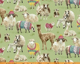 Knit N Purl - Farm Animals Wooly Friends from Windham Fabrics