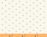 Honey Maple - Triangles Cream by Whistler Studios from Windham Fabrics