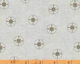Seven Seas - Compasses by Whistler Studios from Windham Fabrics