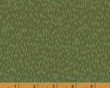 Bear Camp - Dashes Green by Whistler Studios from Windham Fabrics