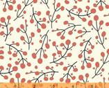 Juniper - Berries Light Red by Jessica VanDenburgh from Windham Fabrics