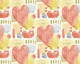 Blessings - Hearts by Jane Alison from Henry Glass Fabric