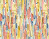 Blessings - Brush Strokes by Jane Alison from Henry Glass Fabric