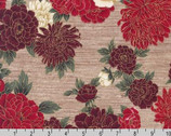 Oriental Traditions 10 - Blossom Crimson from Robert Kaufman