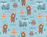 Little Explorers Animals FLANNEL from David Textiles Fabrics