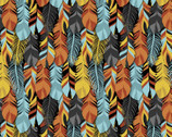 Southwest Corners - Packed Feathers from Four Seasons Fabric