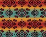 Southwest Corners - Tribal Mystic from Four Seasons Fabric