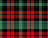 Plaid FLANNEL Red from David Textiles Fabrics