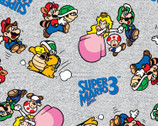 Nintendo Collection - Go Mario and Friends from Springs Creative Fabric
