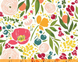 Cora - Floral White from Windham Fabrics