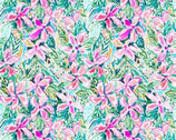 Flowered Garden Tropical Bloom from Print Concepts Fabric