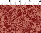 Garden Delights III - Cranberry Red Tonal 7GSG-1 from In The Beginning Fabric