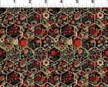 Garden Delights III - Hexagon Florals 11GSG-1 from In The Beginning Fabric