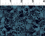 Garden Delights III - Dark Teal Floral Prigs 7GSG-4 from In The Beginning Fabric