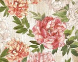 Peony Dance by Chong-a Hwang from Timeless Treasures Fabric