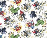 Avengers - Marvel Kapow from Springs Creative Fabric