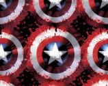 Avengers - Marvel Captain Shield FLEECE from Springs Creative Fabric