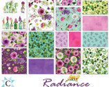 Radiance - Charm Pack by Sue Zipkin from Clothworks Fabric