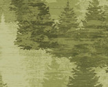 Wild And Free - Forest Green from Clothworks Fabric