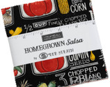 Homegrown Salsa Charm Pack by Deb Strain from Moda Fabrics