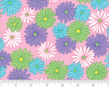Fiddle Dee Dee - Flower Daisy Pink by Me and My Sister from Moda Fabrics