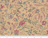 Regency Romance - Floral Vines Cord Tan by Christopher Wilson Tate from Moda Fabrics