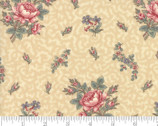 Regency Romance - Floral Floral Toss Middleton Natural by Christopher Wilson Tate from Moda Fabrics