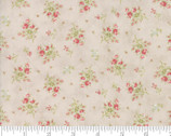 Rue 1800 - Little Floral Toss Dove Earthy Grey by 3 Sisters from Moda Fabrics