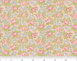 Bramble Cottage - Blossom Floral Pink by Brenda Riddle Acorn Quilts from Moda Fabrics
