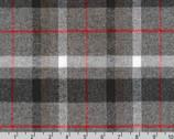 Mammoth FLANNEL - Smoke from Robert Kaufman Fabric