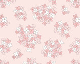 Country Roads - Almost Heaven Floral Pink on Pink from Poppie Cotton Fabric