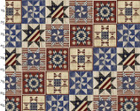 Patriotic Summer - Quilt Squares from 3 Wishes Fabric