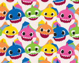 Baby Shark - Family Pack from Springs Creative Fabric